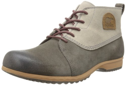 Sorel Mens GREELY CHUKKA Derby#425 White Weià (Silver Sage, Mud 103) Size: 45
