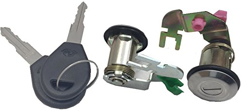 Well Auto Door Lock Set w/ Key(lL& R) 92-94 Nissan Pickup D21 95-97 Nissan Pickup Hardbody (92 Nissan Hardbody Parts compare prices)