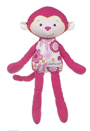 Wheatberries-Pink-Flower-Cuddle-Monkey-14