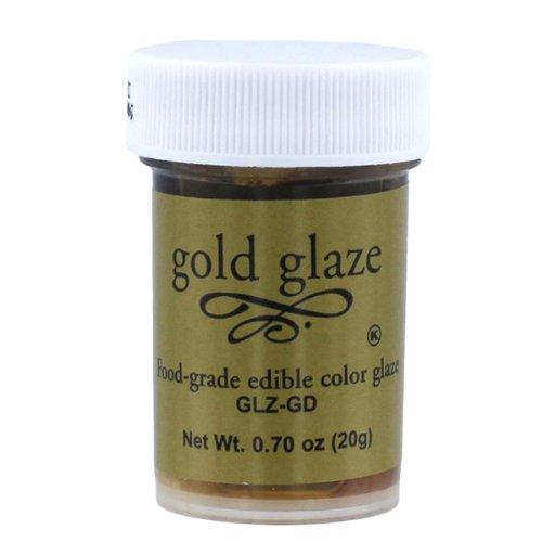 Gold Glaze Ready To Use 20 grams by Bakery Crafts