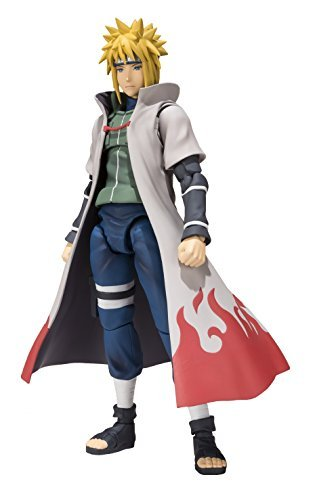 S.H.Figuarts NARUTO- Naruto - Shippuden Minato Namikaze Height approx 14.5cm figure