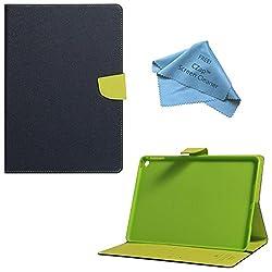 Cubezap Mercury Diary Card Wallet Flip Case Back Cover for Apple iPad 2 3 4 Green Blue