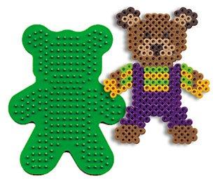 Bear Pegboard for Perler Fuse Beads