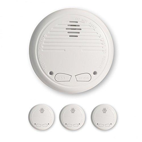 3 Nemaxx WL2 Funkrauchmelder Rauchmelder Brandmelder Set Funk koppelbar vernetzt - nach EN 14604