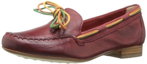 Everybody Women's Mirto Slip-On Loafer,Red,37.5 EU/7.5 M US