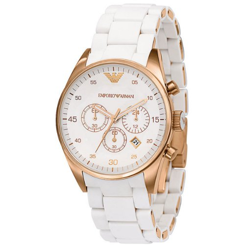 Emporio Armani Womens Chrono Sports Watch AR5920
