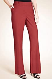 Autograph Flat Front Straight Leg Trousers with Wool [T50-3514-S]