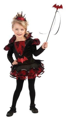 Rubie's Costume Deluxe Batista Ballerina Costume, Black, Toddler
