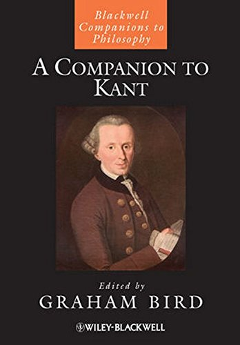 A Companion to Kant (Blackwell Companions to Philosophy)
