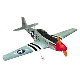 Remote Control, Radio Control, RC P-51 Mustang Airplane Model