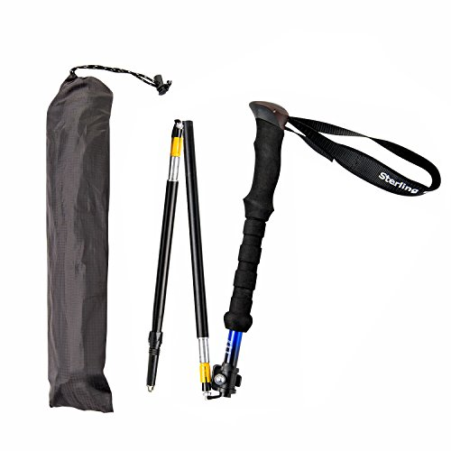 Wonderful Short Persons Compact Foldable Trekking Pole By Sterling