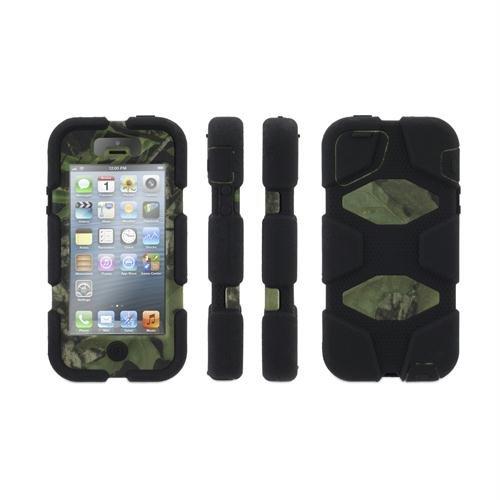 Griffin Technology グリフィン iPhone5/5s アイフォン ケース サバイバー モッシーオーク ブラックオブセッション Survivor MossyOak BLK OBS BLK GB36898