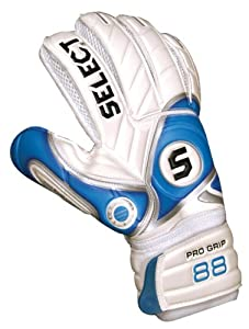 Select 88 Goalkeeper Glove(White/Blue, Size 9)