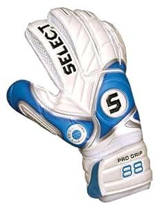Select 88 Goalkeeper Glove(White/Blue, Size 10)