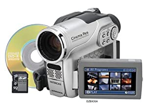 Hitachi DZ-BX35A DVD Camcorder with 25x Optical Zoom