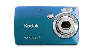 Kodak EasyShare Mini M200 10 MP Digital Camera with 3x Optical Zoom and 2.5-Inch LCD - Blue