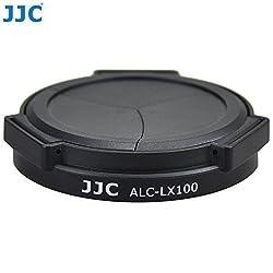 JJC ALC-LX100 Auto Open & Close Lens Cap For Panasonic LUMIX DMC-LX100 LEICA D-LUX(Typ 109) Camera Replaces DMW-LFAC1