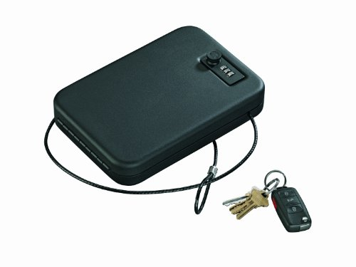 Stack-On Pc-95C Portable Case With Combination Lock, Black front-51602