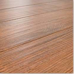 12 mm Beveled Edge Hand Scraped Laminate Floors Distressed Natural Oak