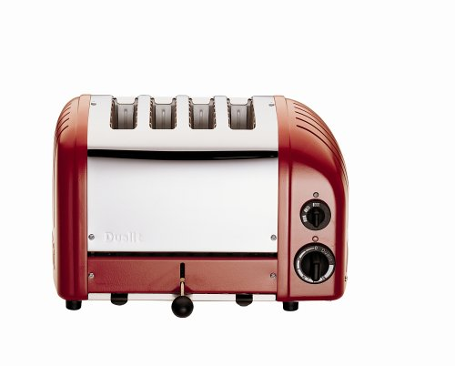 Dualit 2+2 Toaster Red 42175