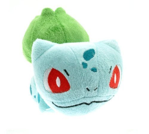 Just Model Pokemon Bulbasaur 6'' Soft Plush Stuffed Doll Toy Free, Blue - 1