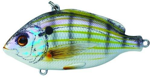 Koppers Lipless Pinfish Rattle Salt Water Lure, Natural/Matte, 2-1/2-Inch, 7/8-Ounce