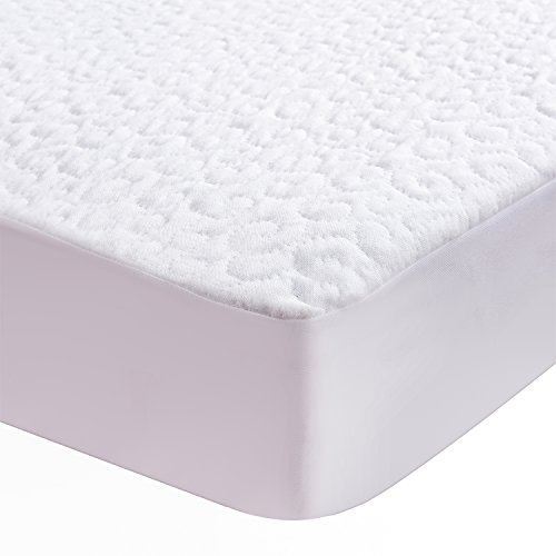 New Lullabi Premium Hypoallergenic Waterproof Mattress Protector, Mattress Cover, Soft and Breathabl...