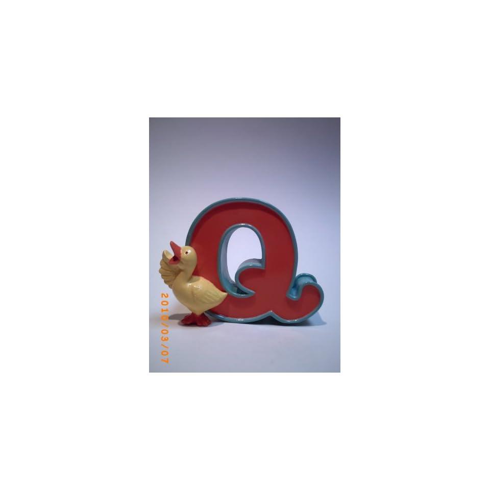 Letter Q  Alphabet Zoo By Figi Baby