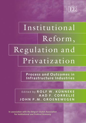 Institutional Reform, Regulation and Privatization: Process and Outcomes in Infrastructure Industries