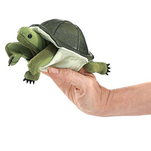 Folkmanis-Turtle-Finger-Puppet