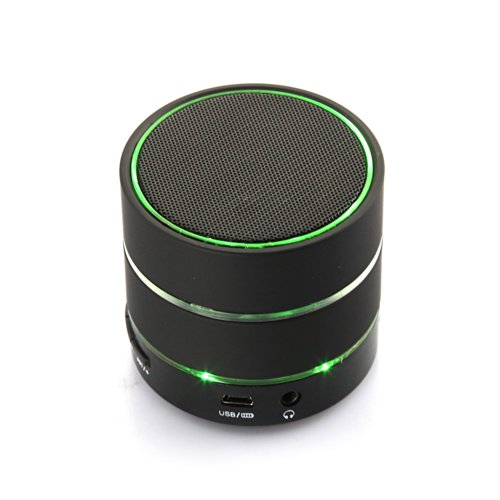 Dbpower Wireless Bluetooth 3.0 Mini Speaker Handsfree Car Speaker Supports Tf/Micro Sd Card With Mic For Iphone Ipad Nexus 4 7 Sumsung Galaxy S3 S4 Black