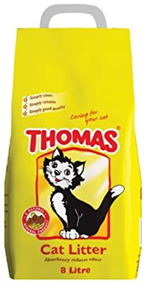 Thomas cat litter 8 Litre (Pack of 4)