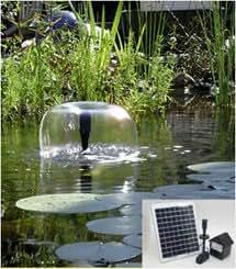 8 watt solar panel pond water solar pump w for Farm pond pumps