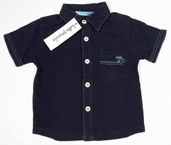 """TUTTO PICCOLO """"Golf"""" Baby Jungen mit Logo Hemd Marine (Blau) 126cm / 8 Jahre / Größe 128"""