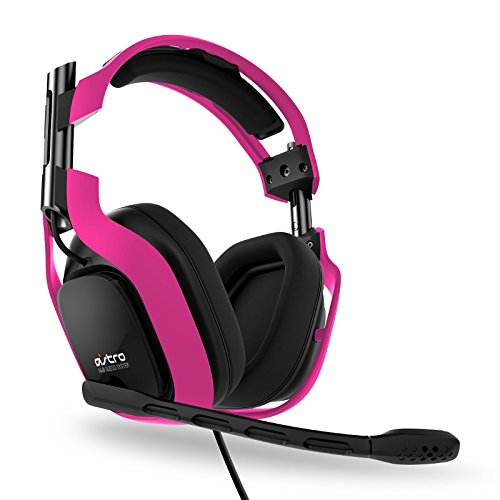 Astro Gaming Neon Color Series A40 Headset Kit (Pink)