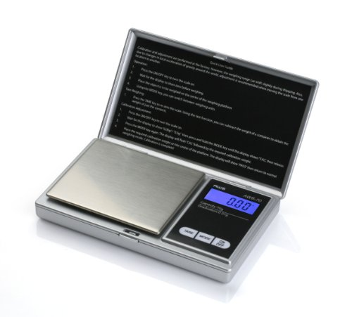 American Weigh Scale Signature Series Silver Aws-70 Digital Pocket Scale, Silver, 70 X 0.01 G