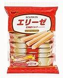 ブルボン エリーゼ北海道ミルク(2本×9袋)18袋 ×12個