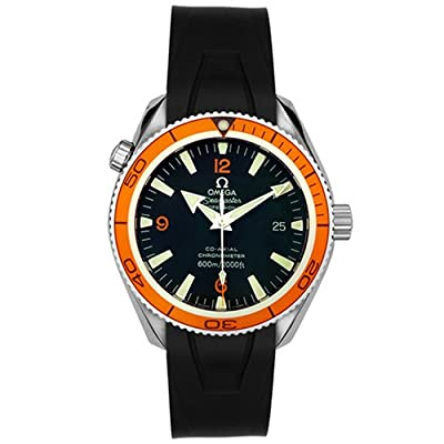 Omega Men's 2909.50.91 Seamaster Planet Ocean Automatic Chronometer Rubber Strap Watch