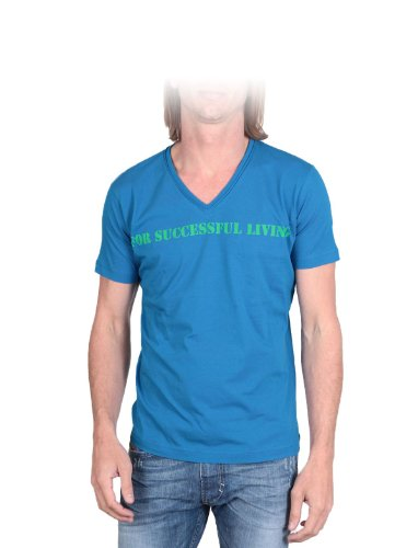 Diesel T-stary-r 89r Straight Blue Man T-shirts Make Men - S