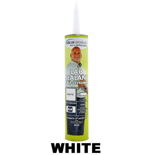Dicor Rubber Roof Lap Sealant (White) Weather Proof Roof Cover Sealant