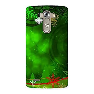 Impressive Chrismas Decor Back Case Cover for LG G3