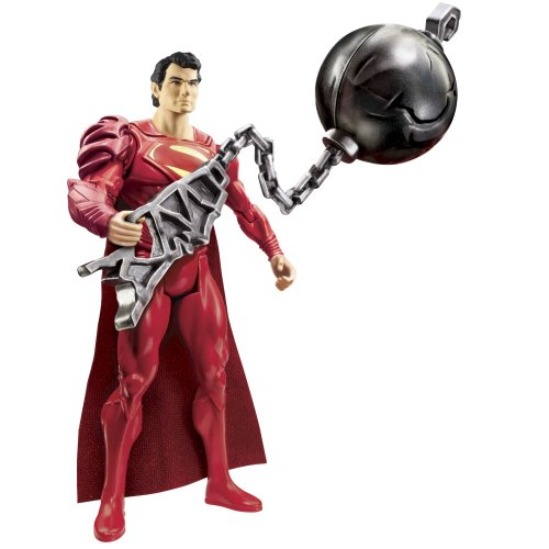 Man of Steel Movie Basic Action Figure Wrecking Ball Superman