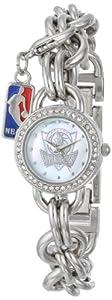 Game Time Ladies NBA-CHM-DAL Charm NBA Series Dallas Mavericks 3-Hand Analog Watch by Game Time