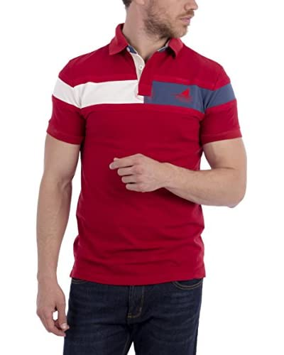 BLUE COAST YACHTING Polo [Rosso]