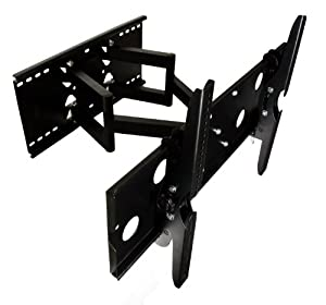 "Mount-It! 32"" 36"" 67"" 40"" 42"" 46"" 50"" 52"" 55"" LCD Compatible Articulating, Swivel, Pivot, TV Wall Mount Bracket & Free HDMI Cable"