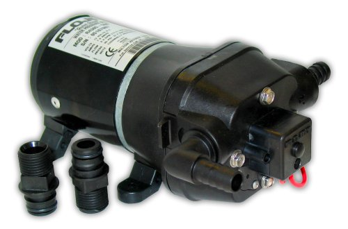 FloJet 04405143A Marine Water Pressure System with Bypass (3.3-GPM, 35-PSI, 12-Volt) primary