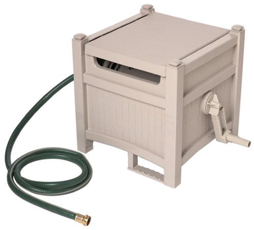 Suncast PHH100D Hose Hideaway with 100-Foot-Capacity Hose Reel