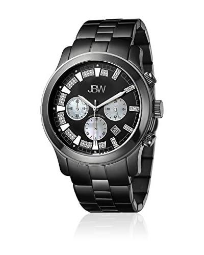 JBW Reloj de cuarzo Man Delano Negro 48 mm