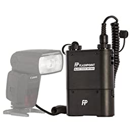 Flashpoint BP960-CA Blast Power Pack Kit for Canon Flashes (Black)