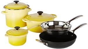 Le Creuset 8-Piece Ultimate Cookware Set, Soleil